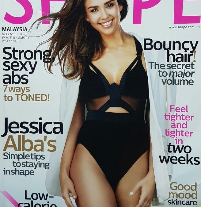 Vanquish Treatment featured on Shape Magazine