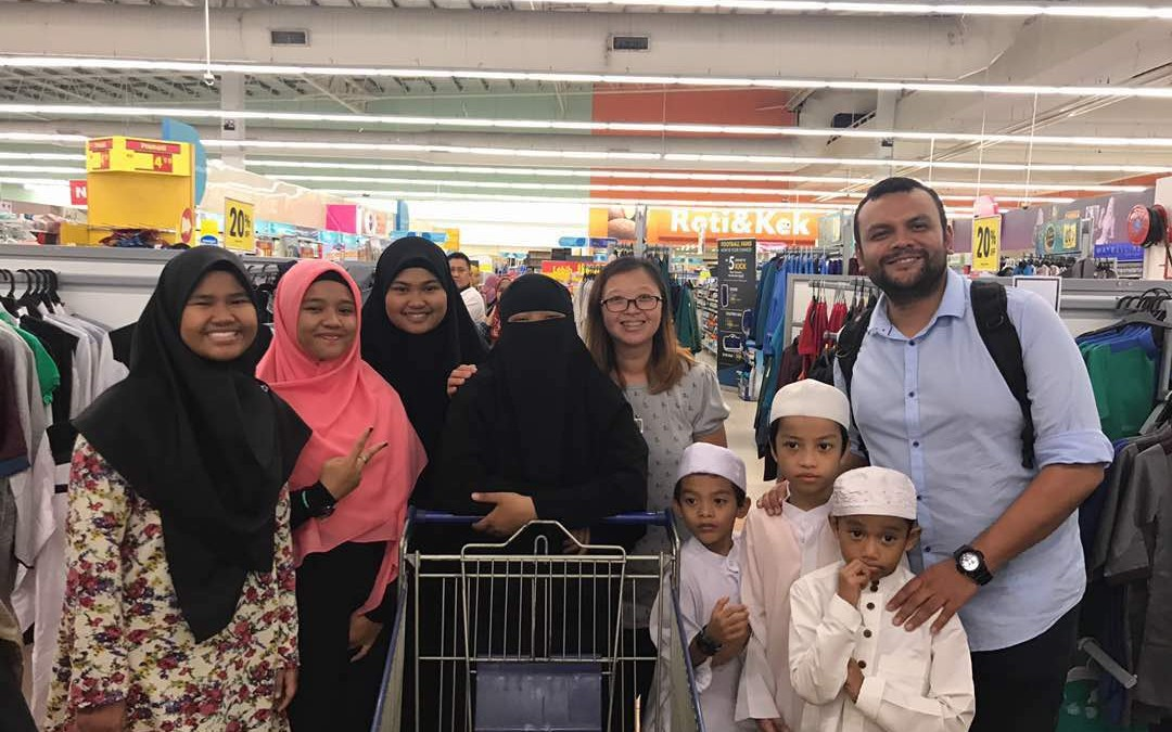 Fun moments that we would never forget with members from Rumah Anak Yatim Nur Hidayah