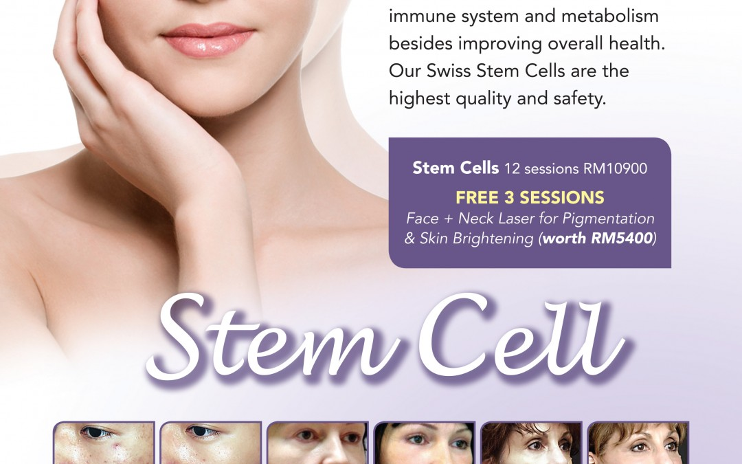 Limited Time Promo 1 Stem Cell Therapy for 3 FREE Carbon Laser Peel Session