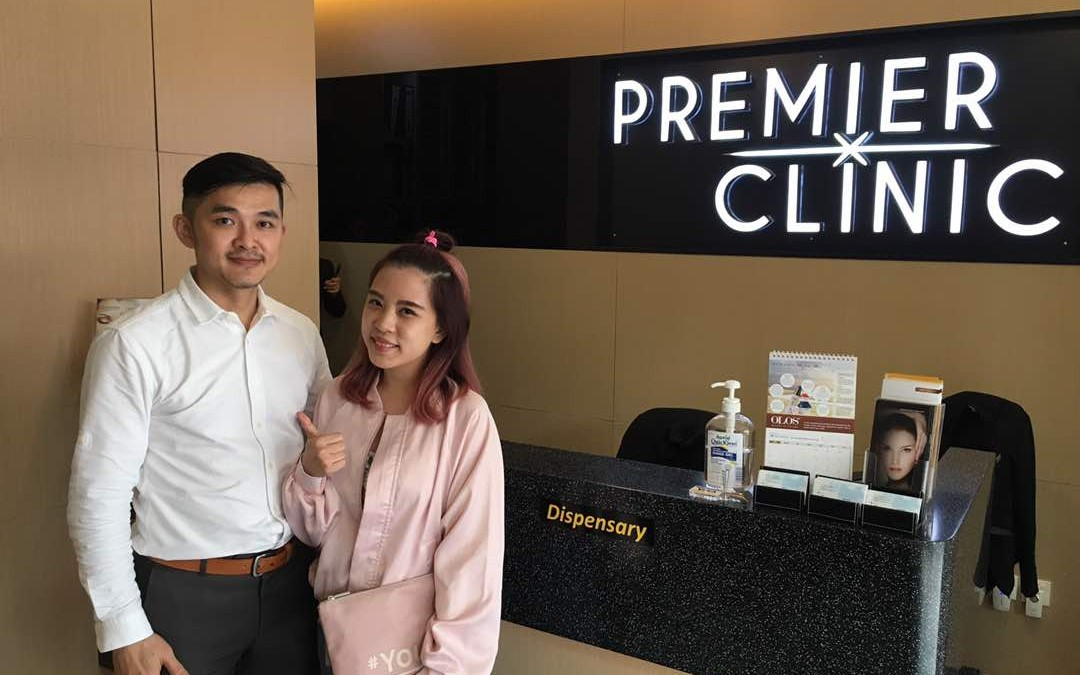 Yumi Meiki one of the Top Bloggers in Malaysia with Dr. Kee Yong Seng on MesoLipo Fat Melting Injection treatment.