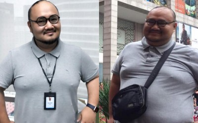 Kenny Goi lost 21kg in 65 days with Premier Clinic Weight Loss Program