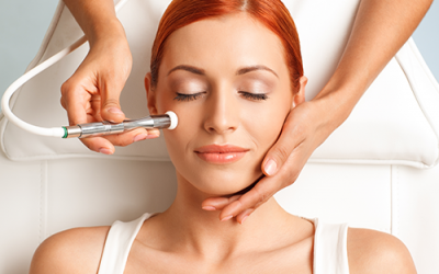 Microdermabrasion helps to reveal healthy skin underneath!
