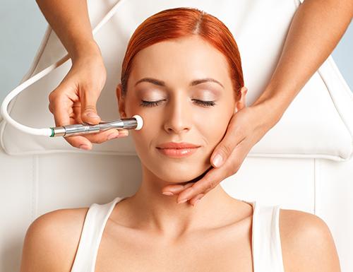 Microdermabrasion helps to reveal healthy skin underneath!
