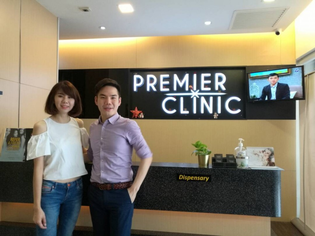 Ms Bowie Cheong visited Premier Clinic