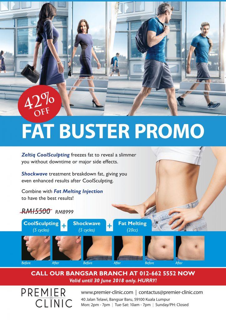 Fat Buster 42% CoolSculpting Discount