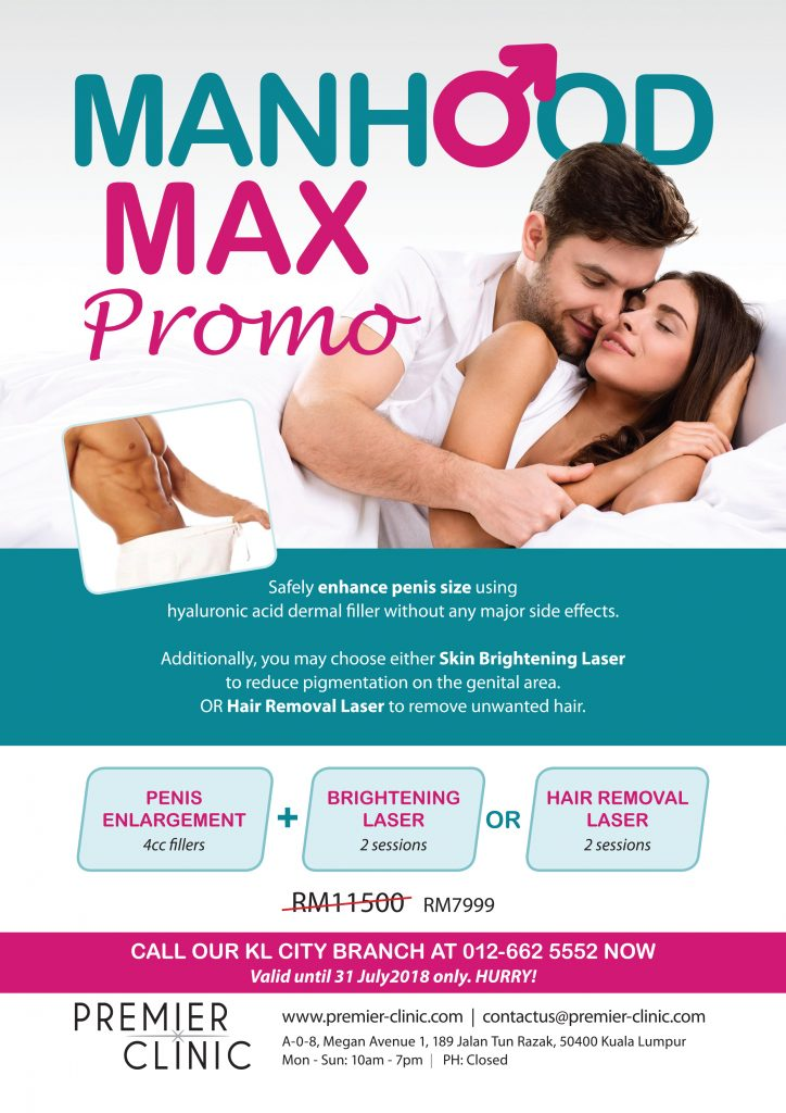 Manhood Enlargement in KL. Save RM3500