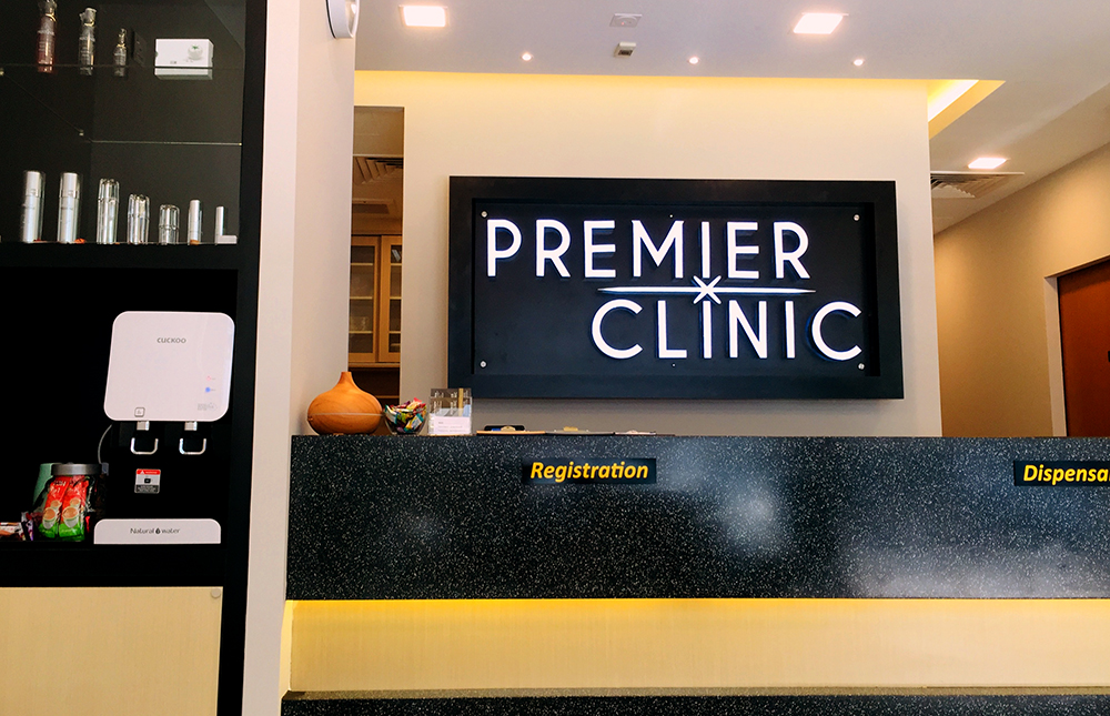 Premier Clinic Mont Kiara Lobby